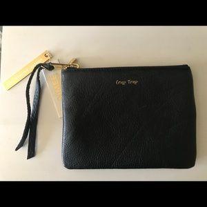 """Handbags - Amy Kestenberg Leather """"Crap Trap"""" Zip Pouch"""